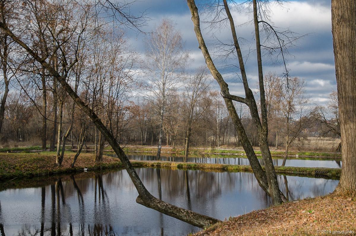 Усадьба Лопасня-Зачатьевское. Каскадные пруды