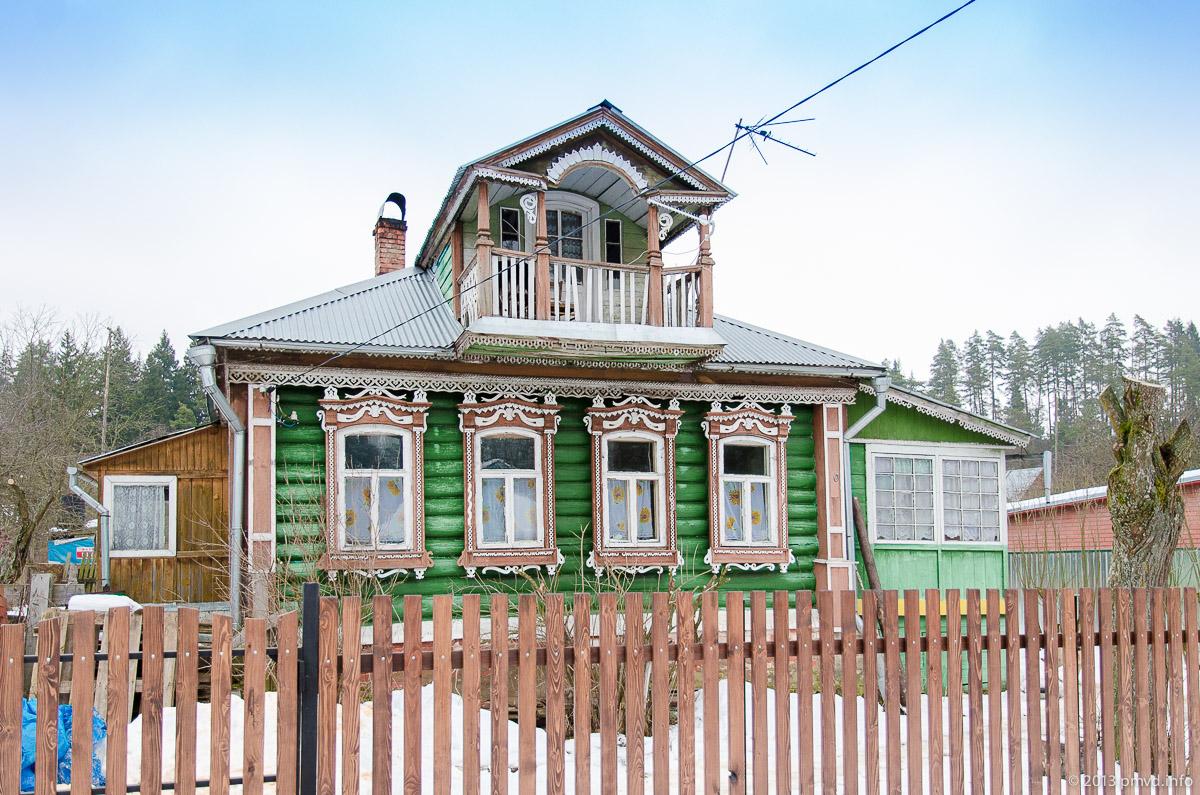 Дома в Дютьково.