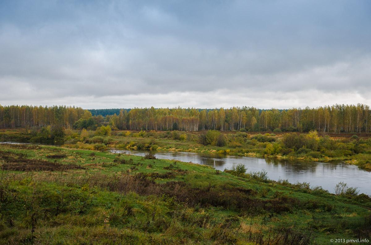 Река Нерль в Кидекше