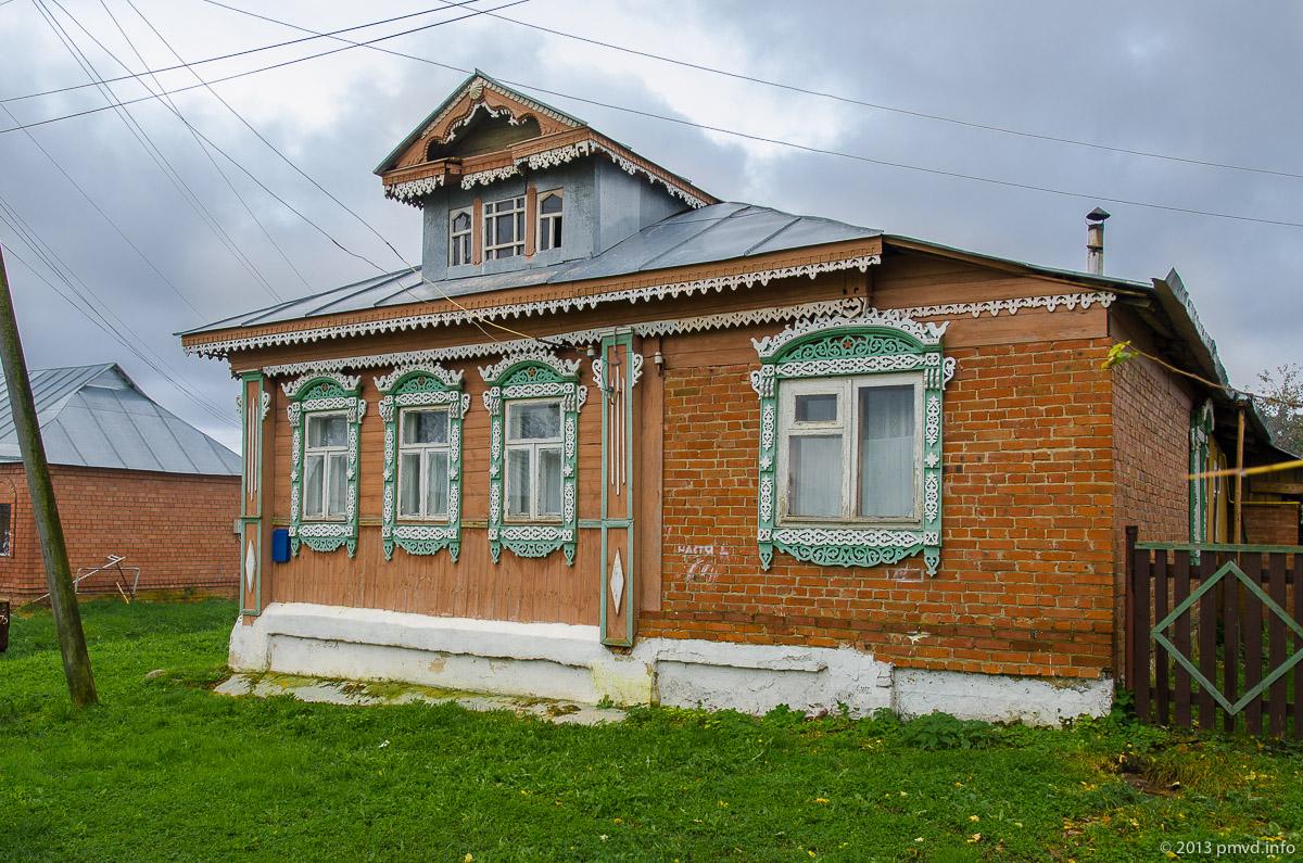 Дом с резным декором в Кидекше