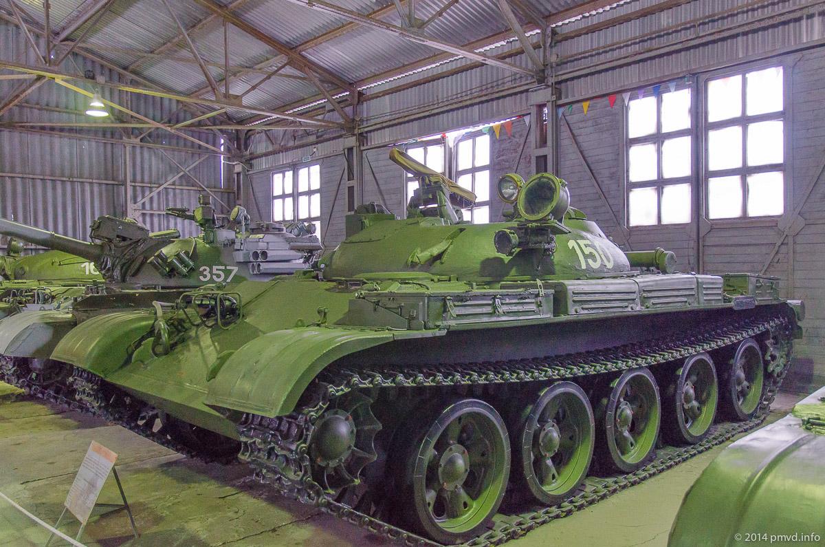 Ракетный танк ИТ-1 в танковом музее в Кубинке