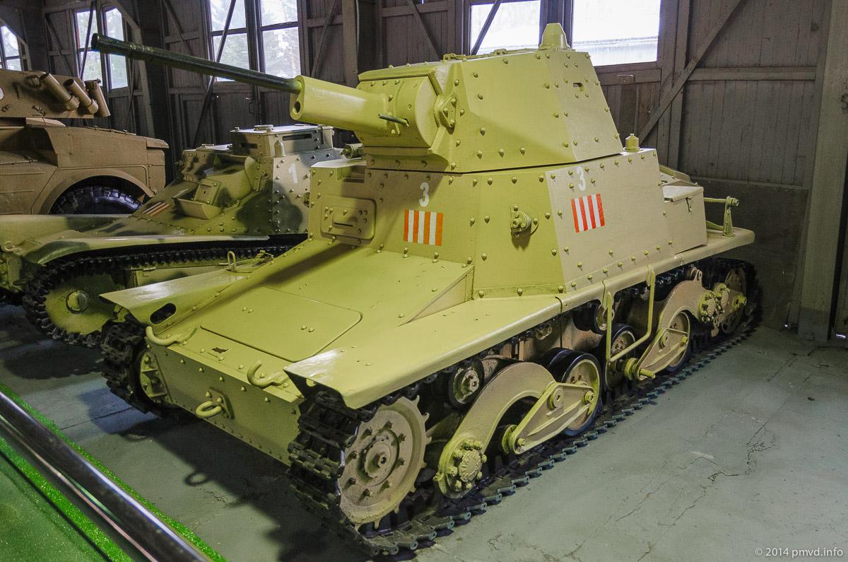 Fiat Ansaldo в танковом музее Кубинки
