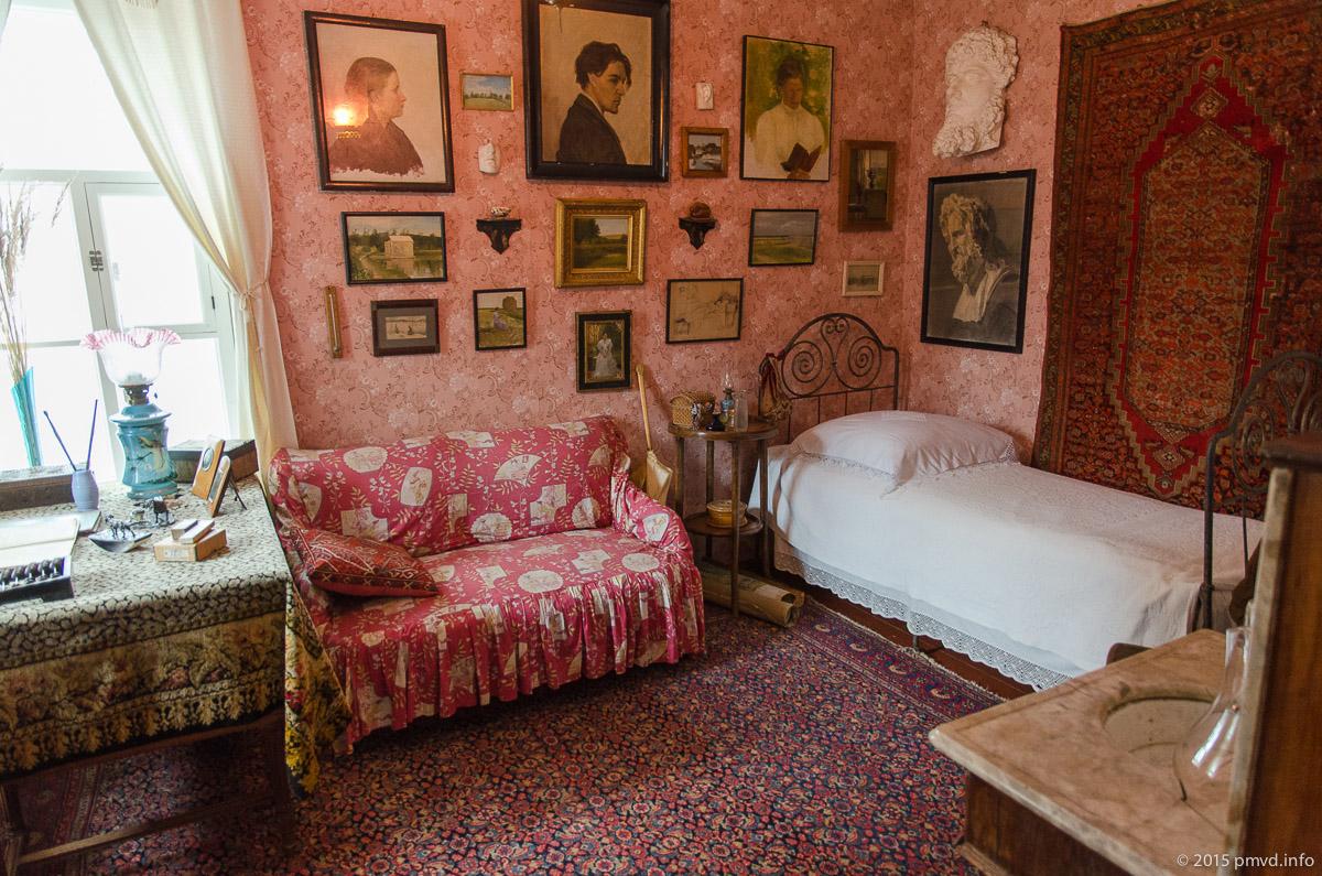 Спальня сестры Чехова в Мелихово