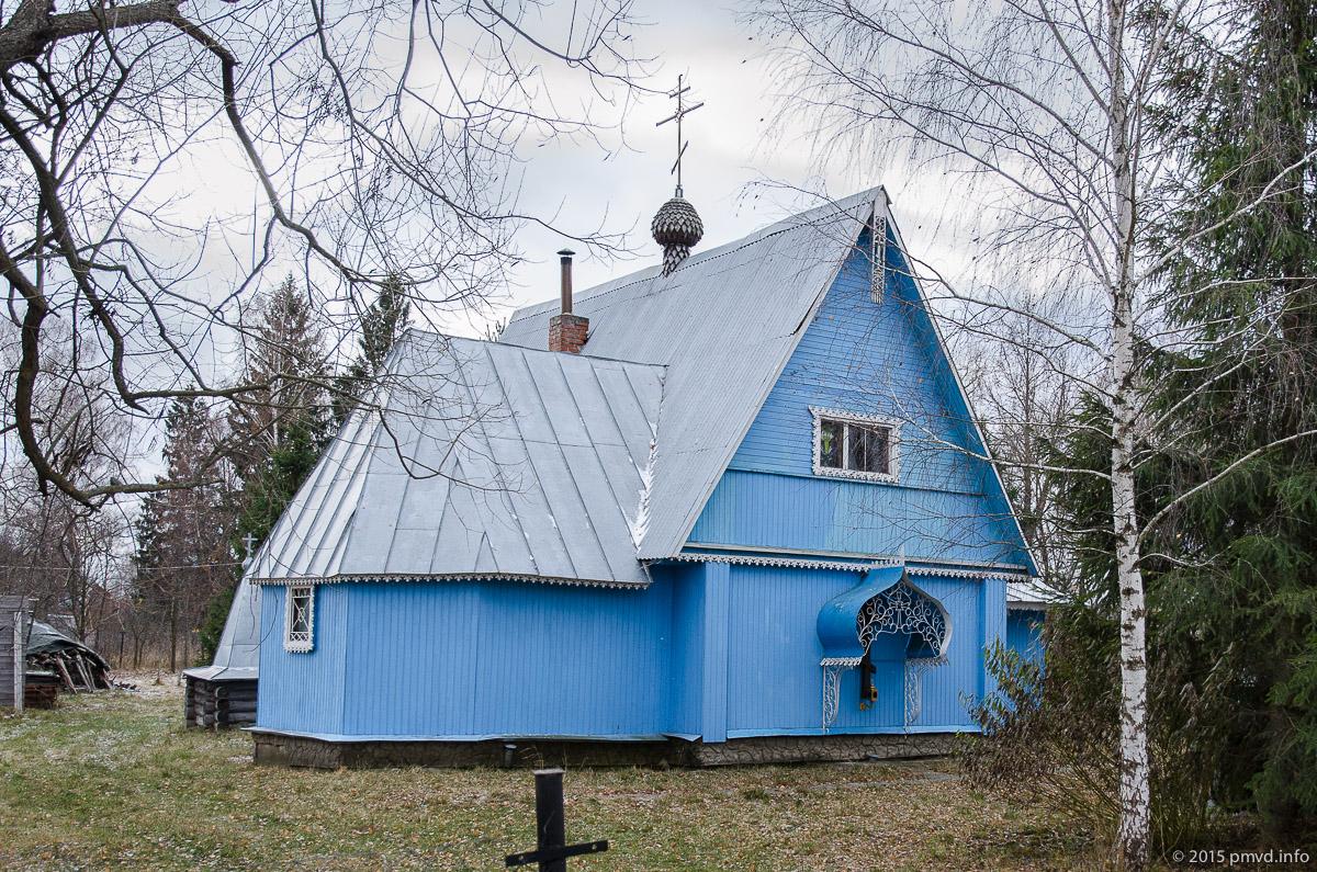 Крестовоздвиженский храм в Мелихово