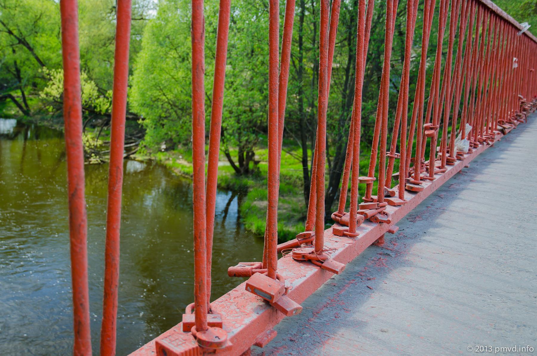 Гламурный мост через реку Нара. Наро-Фоминск.