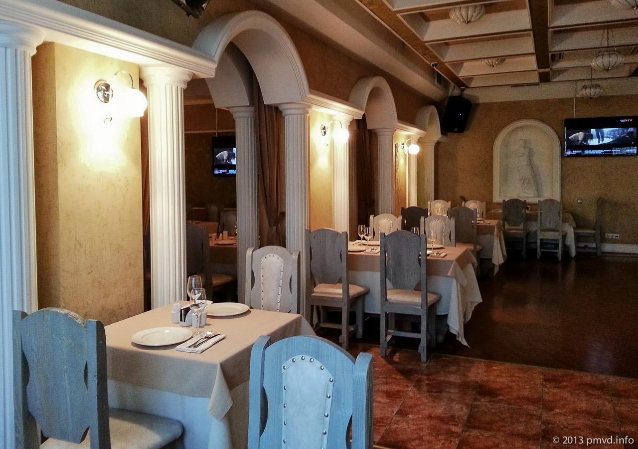 Интерьер ресторана Сопрано. Твин Кидс. Трехгорка. Одинцово.