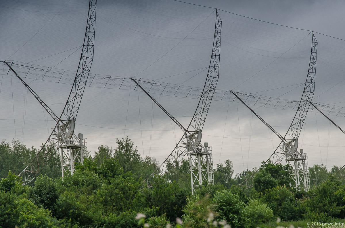 Пущино. Радиотелескоп ДКР-100
