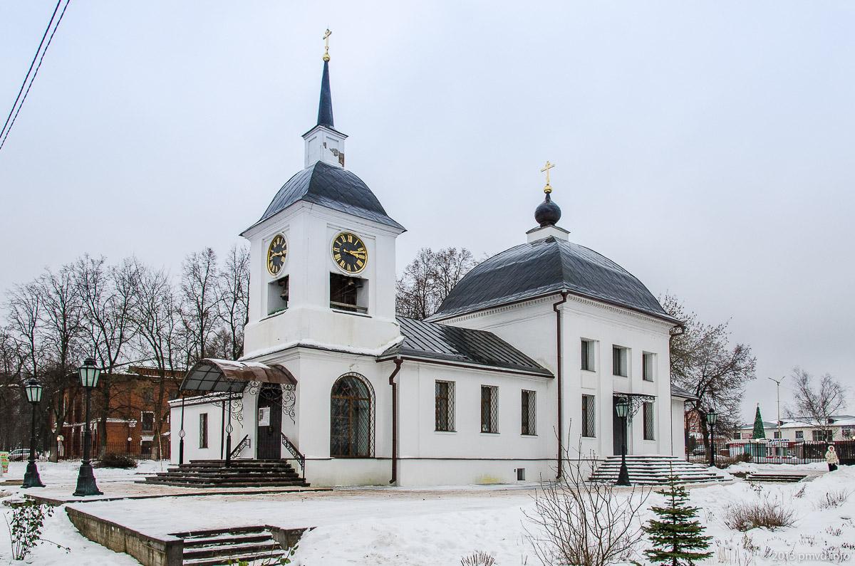 Щапово. Успенская церковь