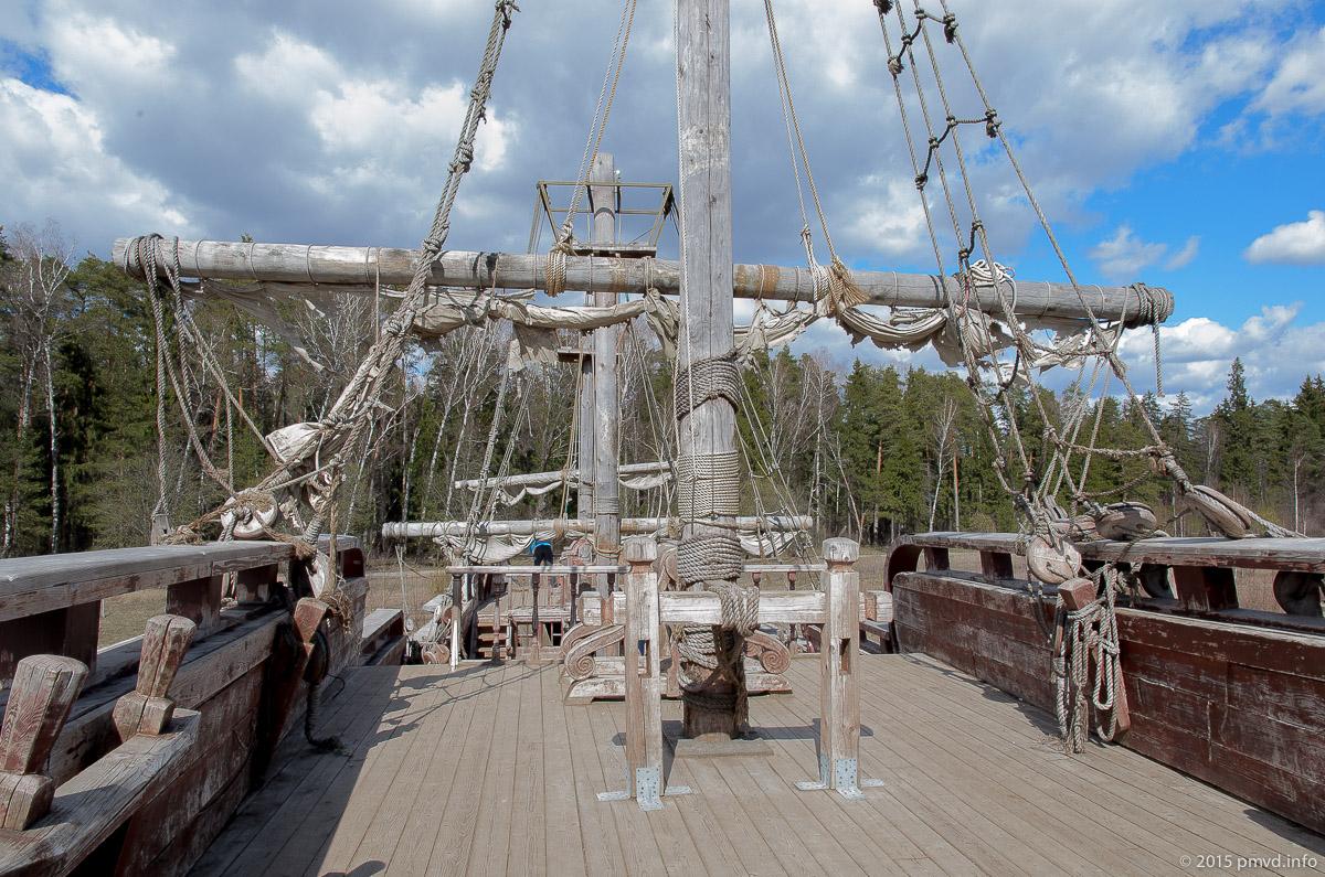 Корабль в киногороде Пилигрим Порто
