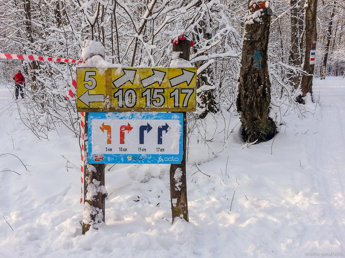 Трасса в Ромашково. Разметка