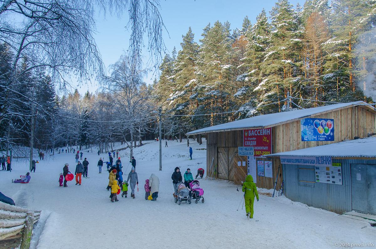 Лыжня в Троицке. Инфраструктура