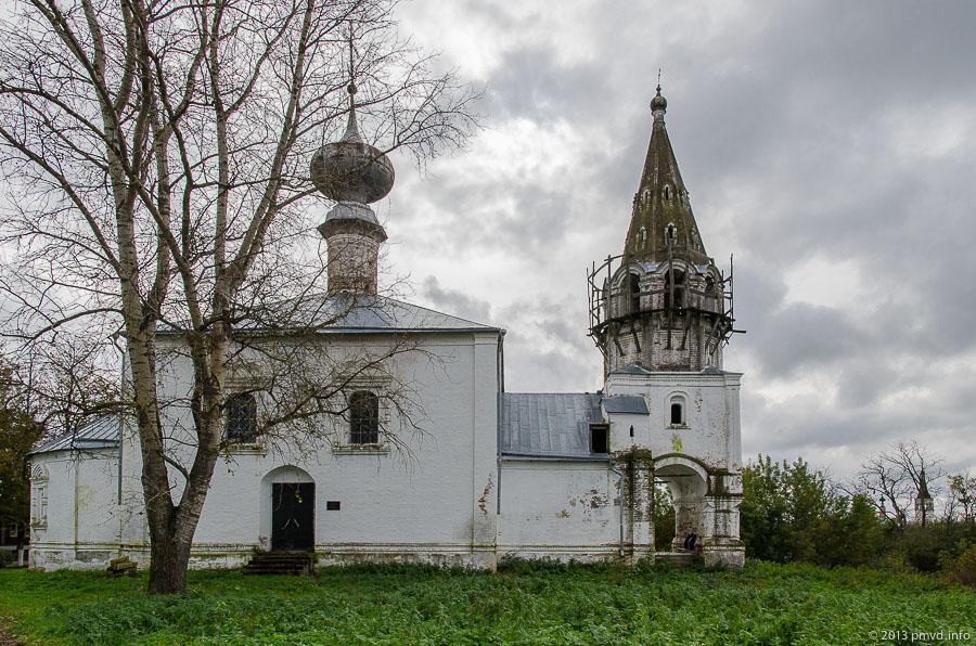 Суздаль. церковь Усекновения Главы Иоанна Предтечи