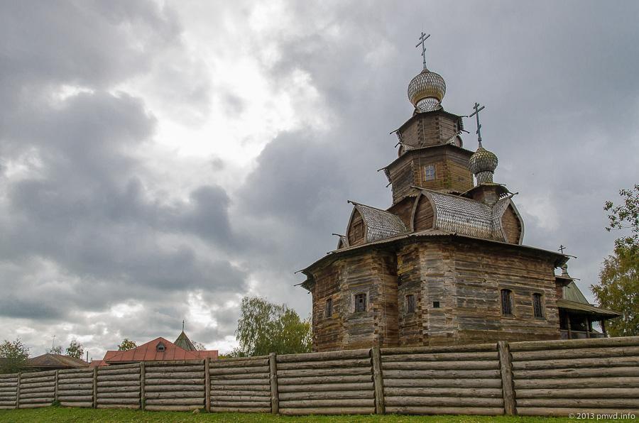 Суздаль. Музей деревянного зодчества. Преображенская церковь
