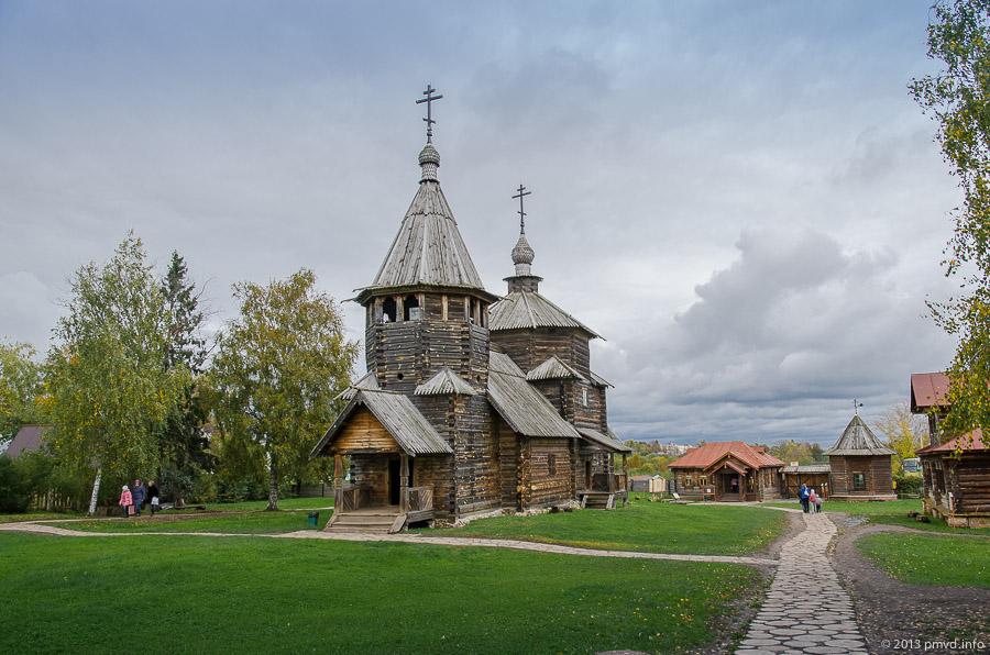 Суздаль. Музей деревянного зодчества. Воскресенская церковь