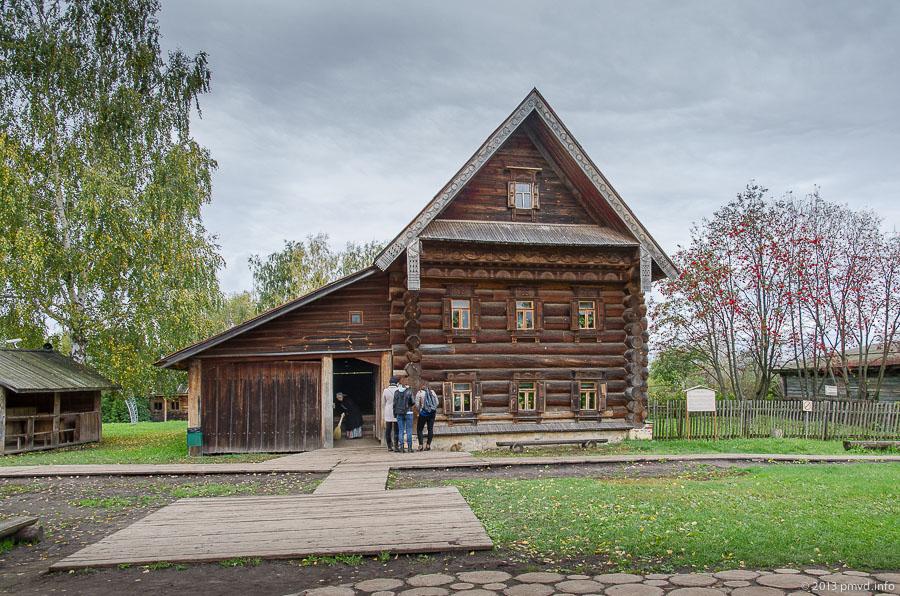 Суздаль. Музей деревянного зодчества. Дом зажиточного крестьянина