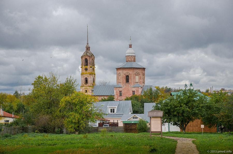 Суздаль. Борисоглебская церковь.