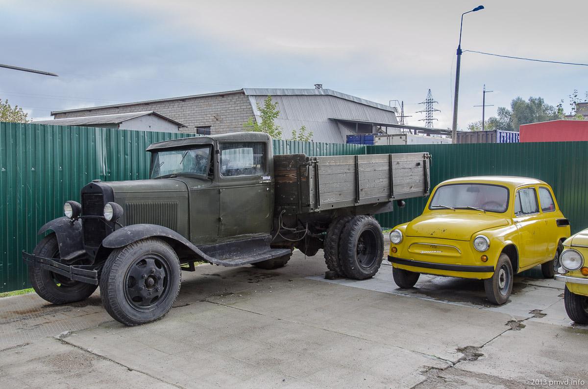ГАЗ-АА и ЗАЗ-965 в Музее Техники Вадима Задорожного