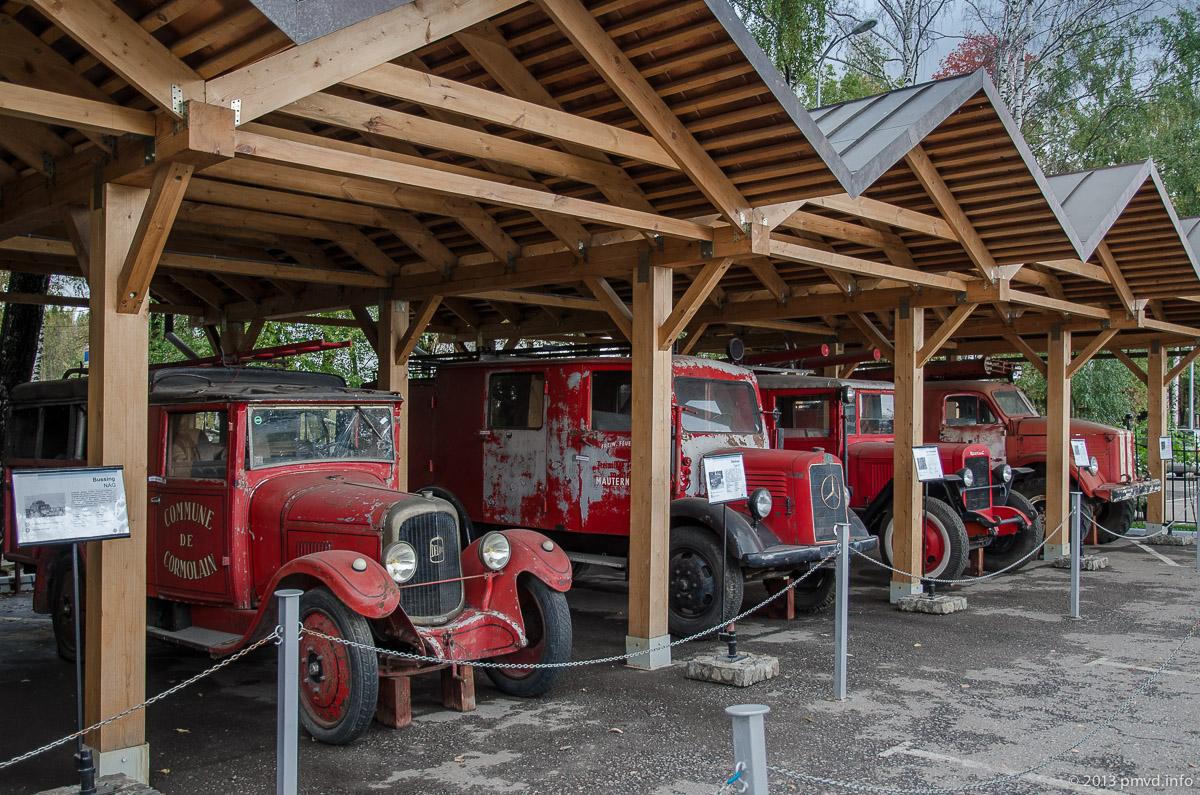 Пожарные машины в Музее Техники Вадима Задорожного