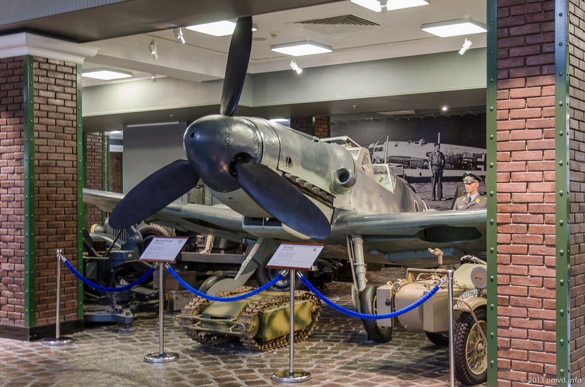 Messerschmitt Bf.109 в Музее Техники Вадима Задорожного