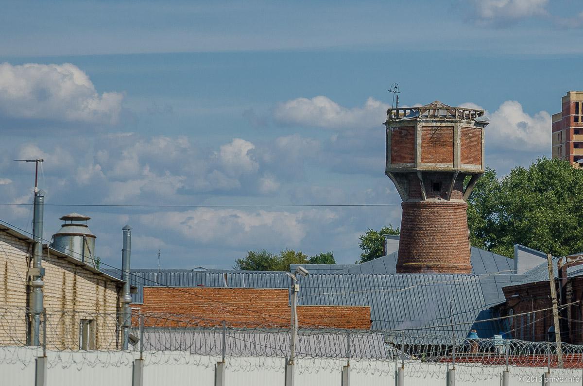 Троицк. Камвольная фабрика. Водонапорная башня