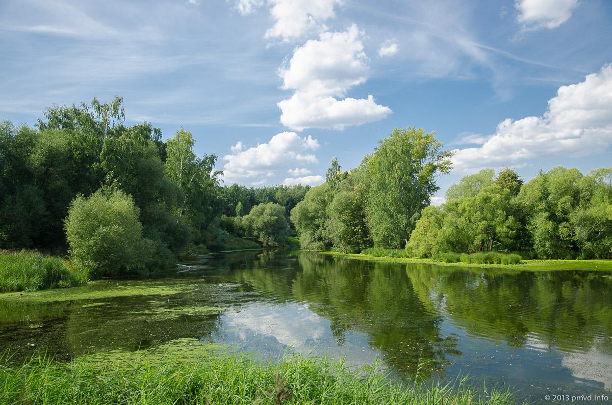 Троицк. Река Десна.