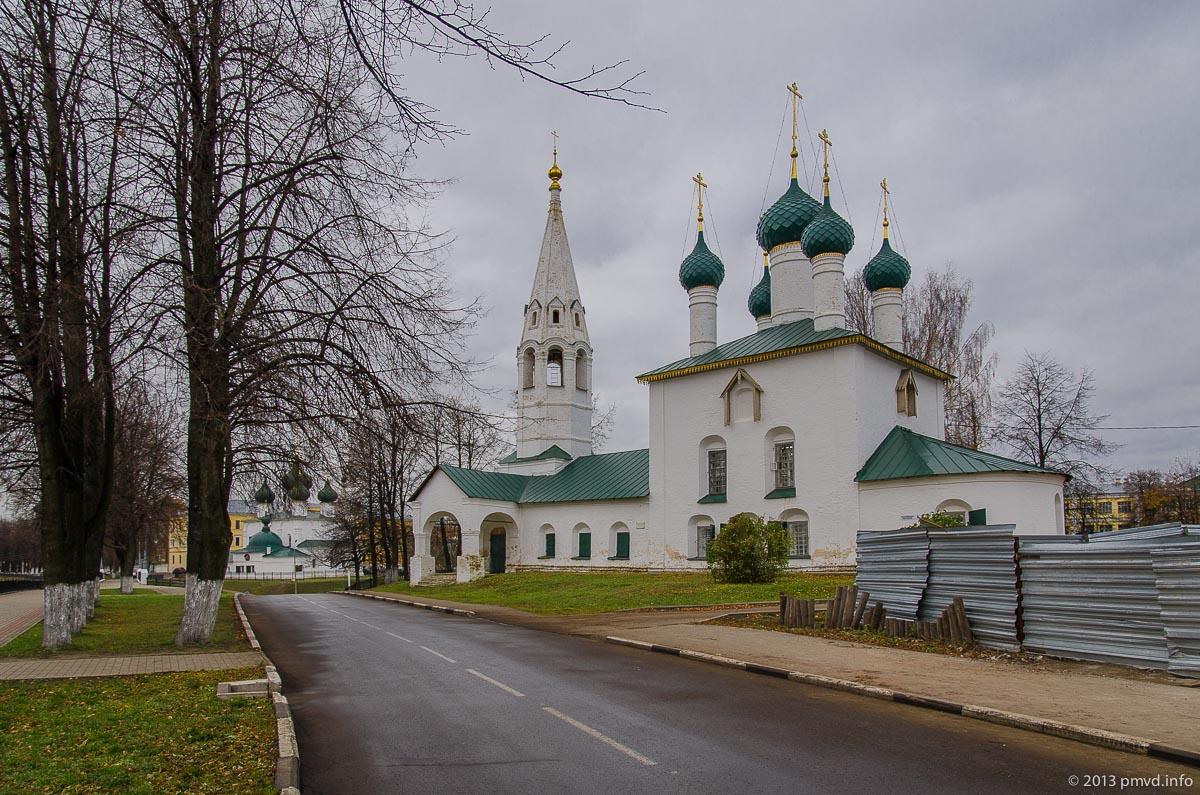 Ярославль. Храм Николы Рубленый город