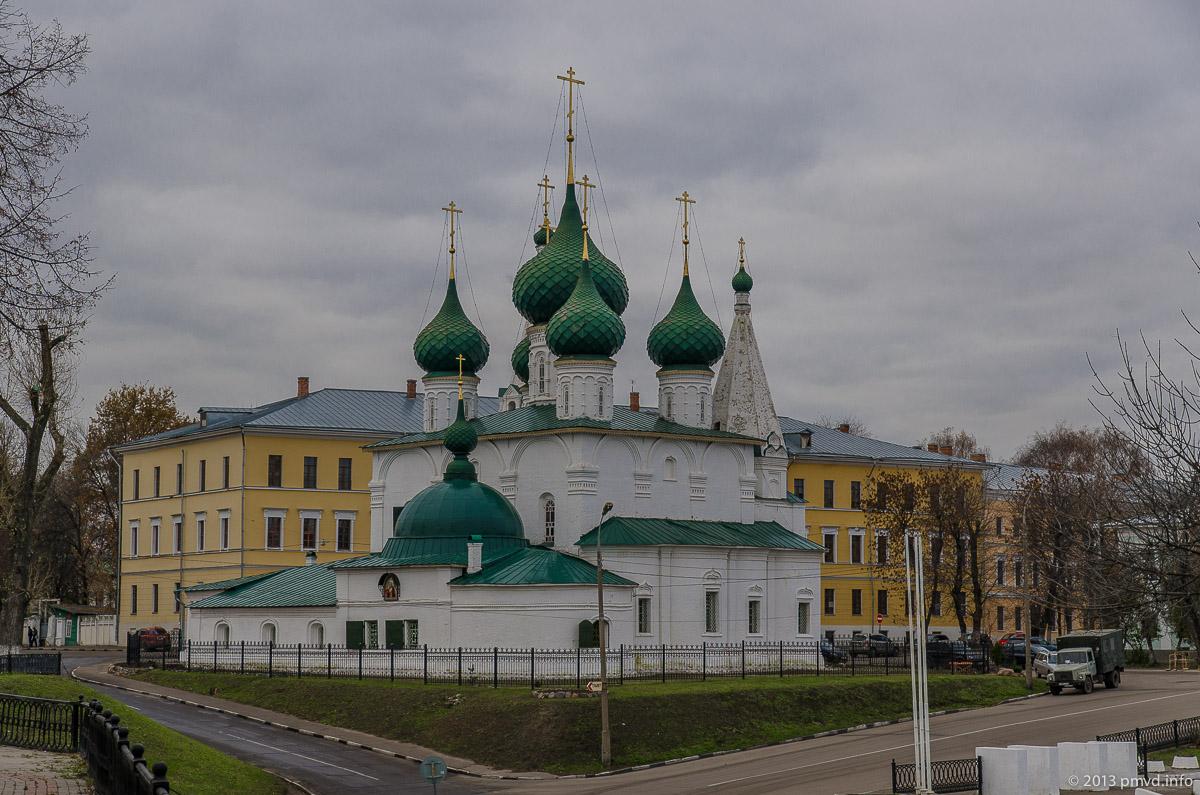 Ярославль. Земляной город. Церковь Спаса на Городу.