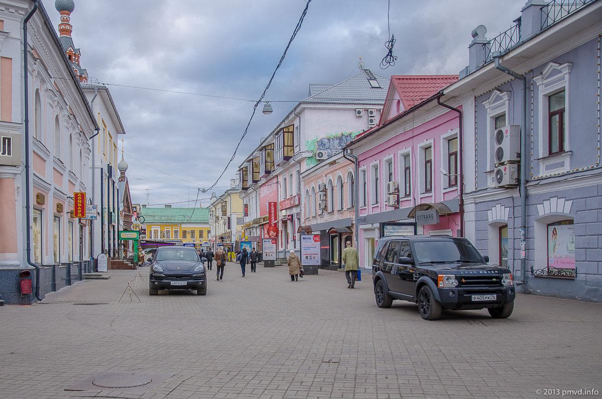 Ярославль. Депутатский переулок