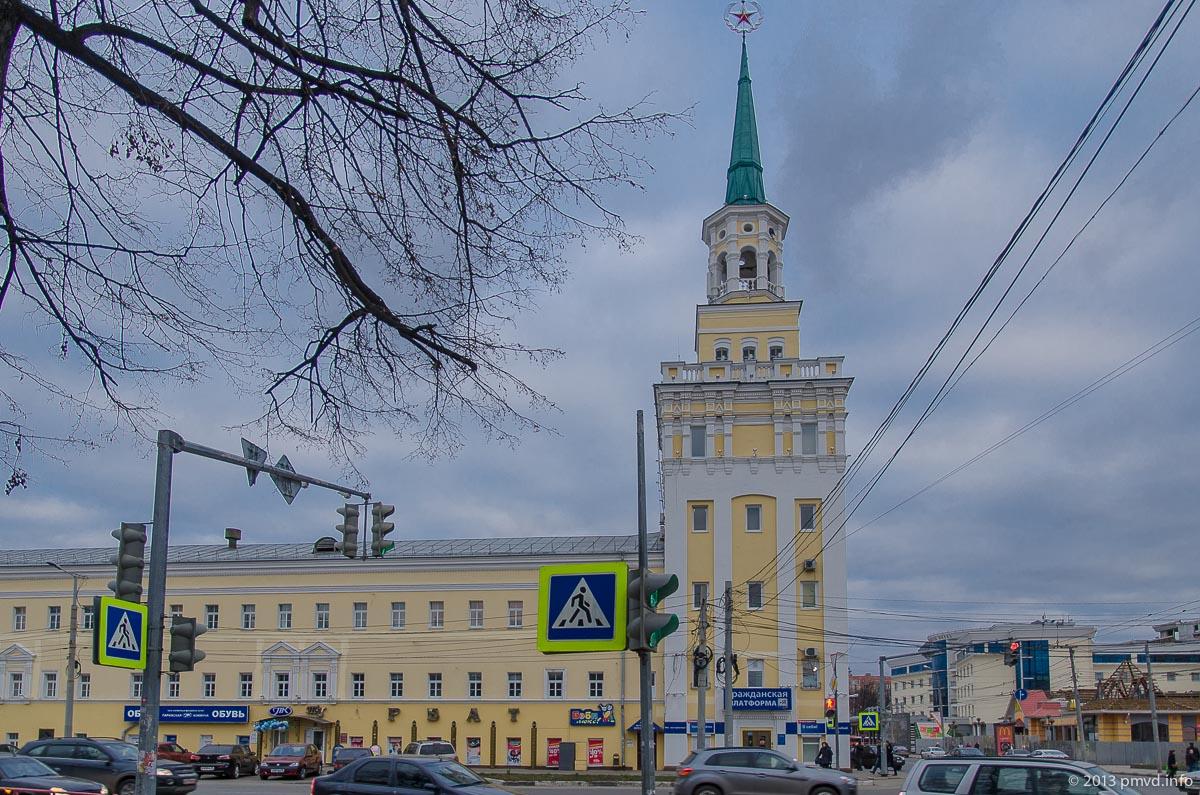 Ярославль. Вознесенские казармы