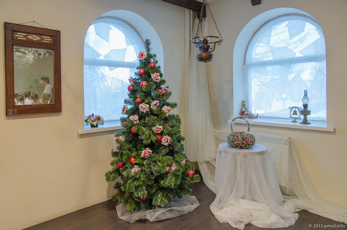 Средневековая рождественская ель