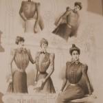 Рисунки из дореволюционных журналов мод