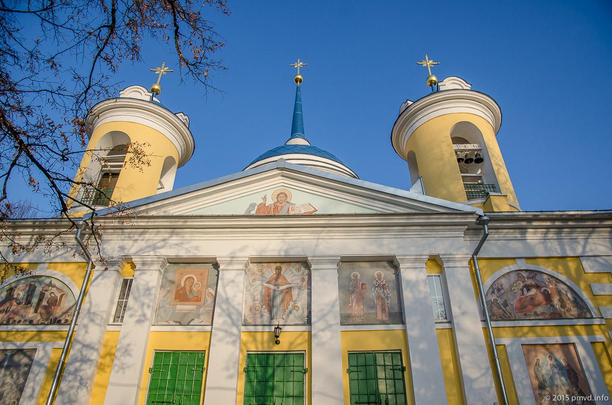 Покровский храм в Акулово