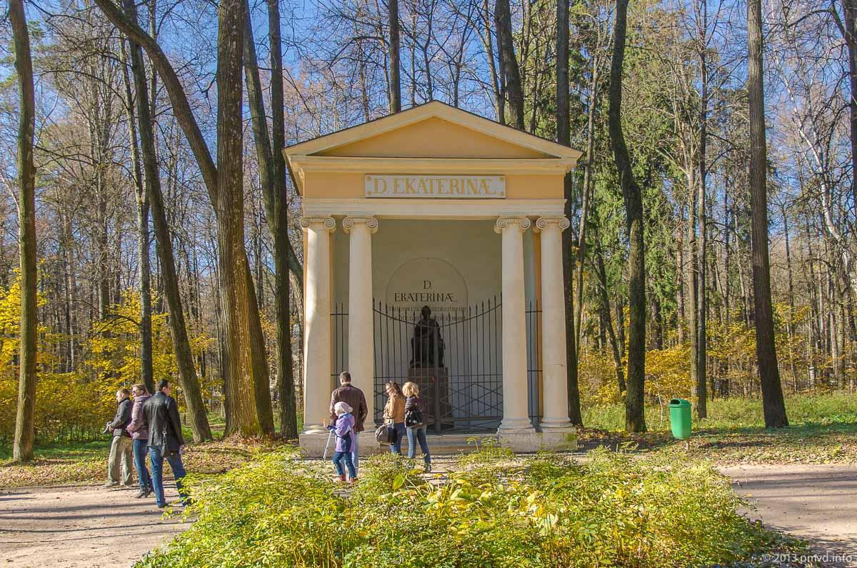 Архангельское. Храм памятник Екатерине II