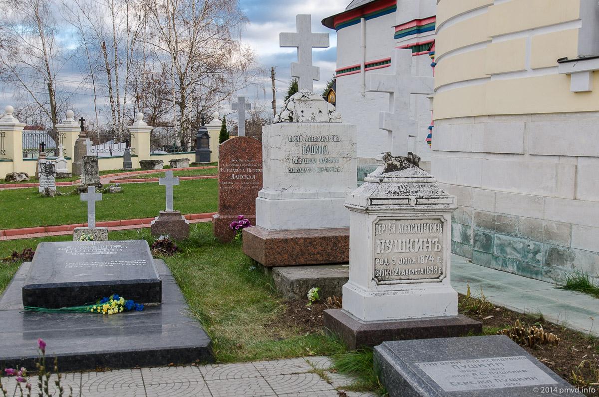 Чехов. Анно-Зачатьевская церковь. Некрополь Пушкиных