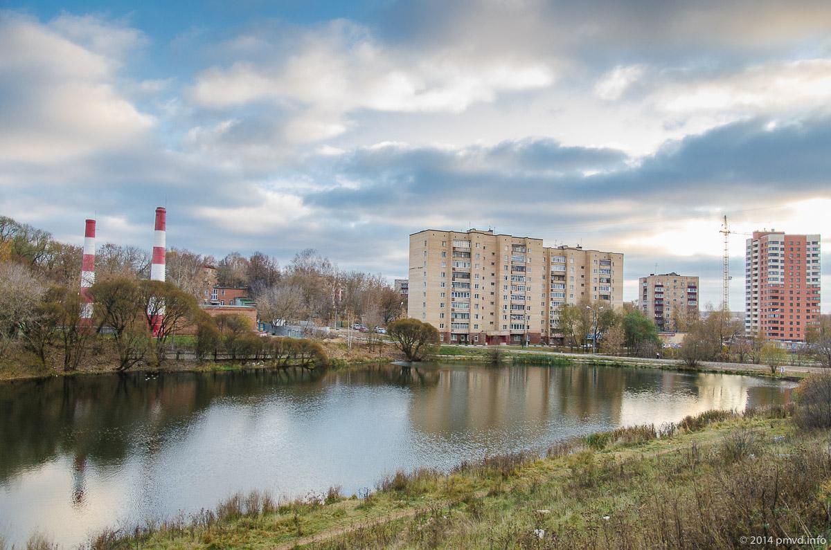 река Лопасня в Чехове
