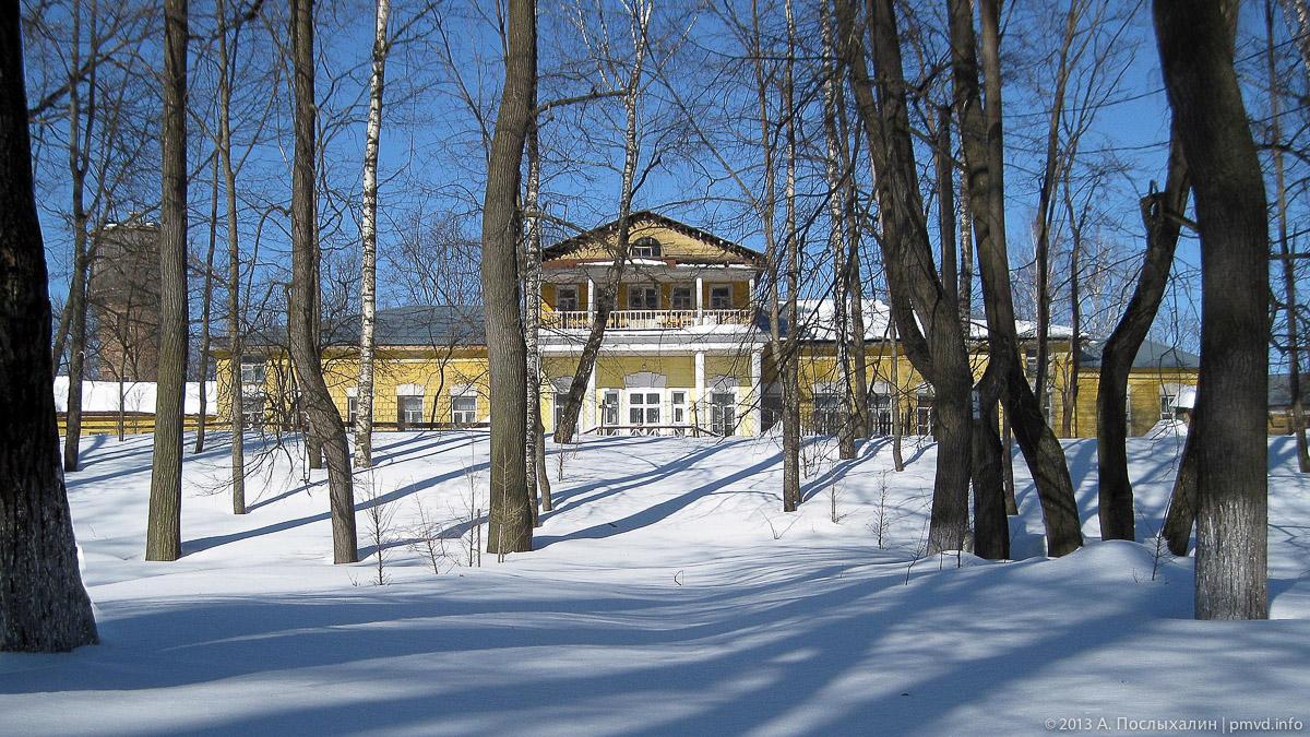 Усадьба Фряново зимой