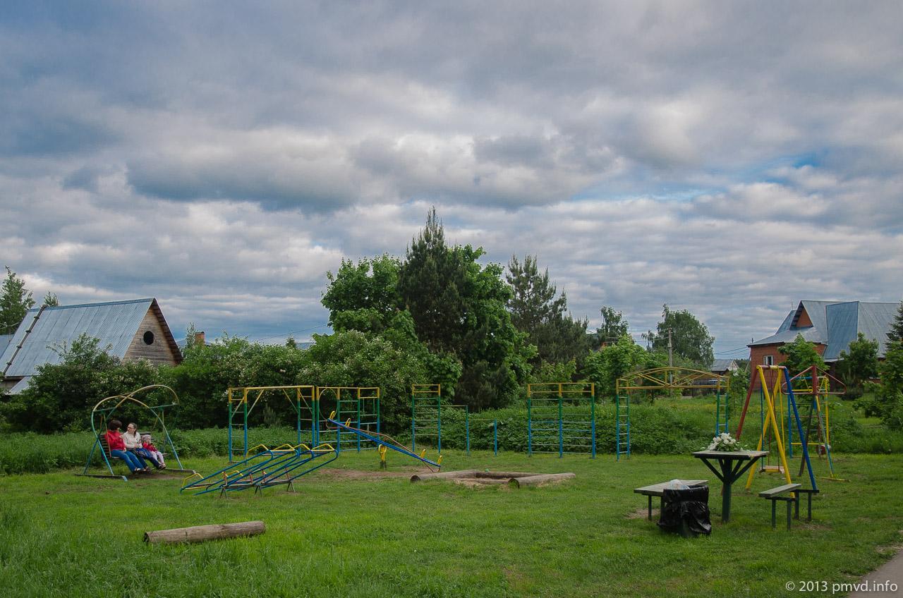 Детская площадка в селе Иславское