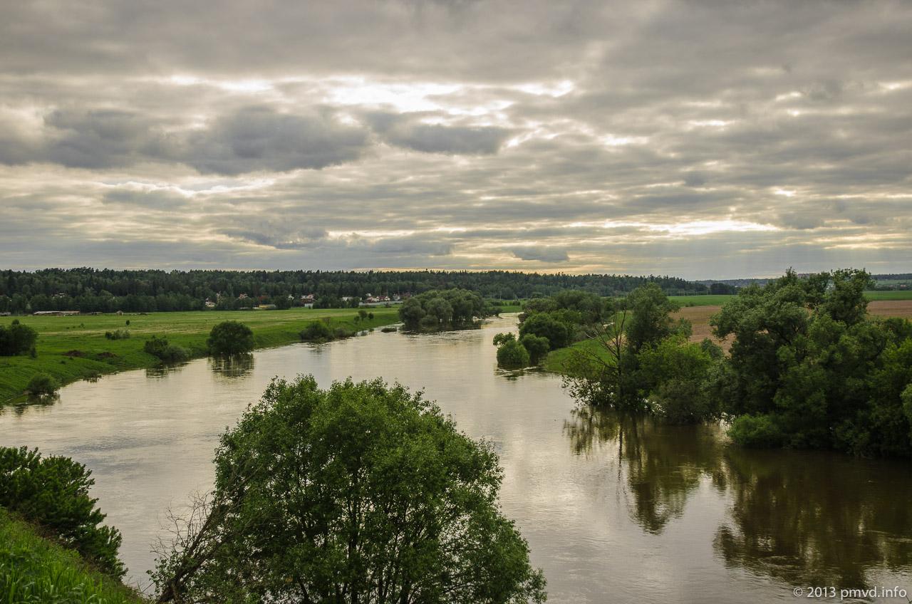 Москва-река в Иславском