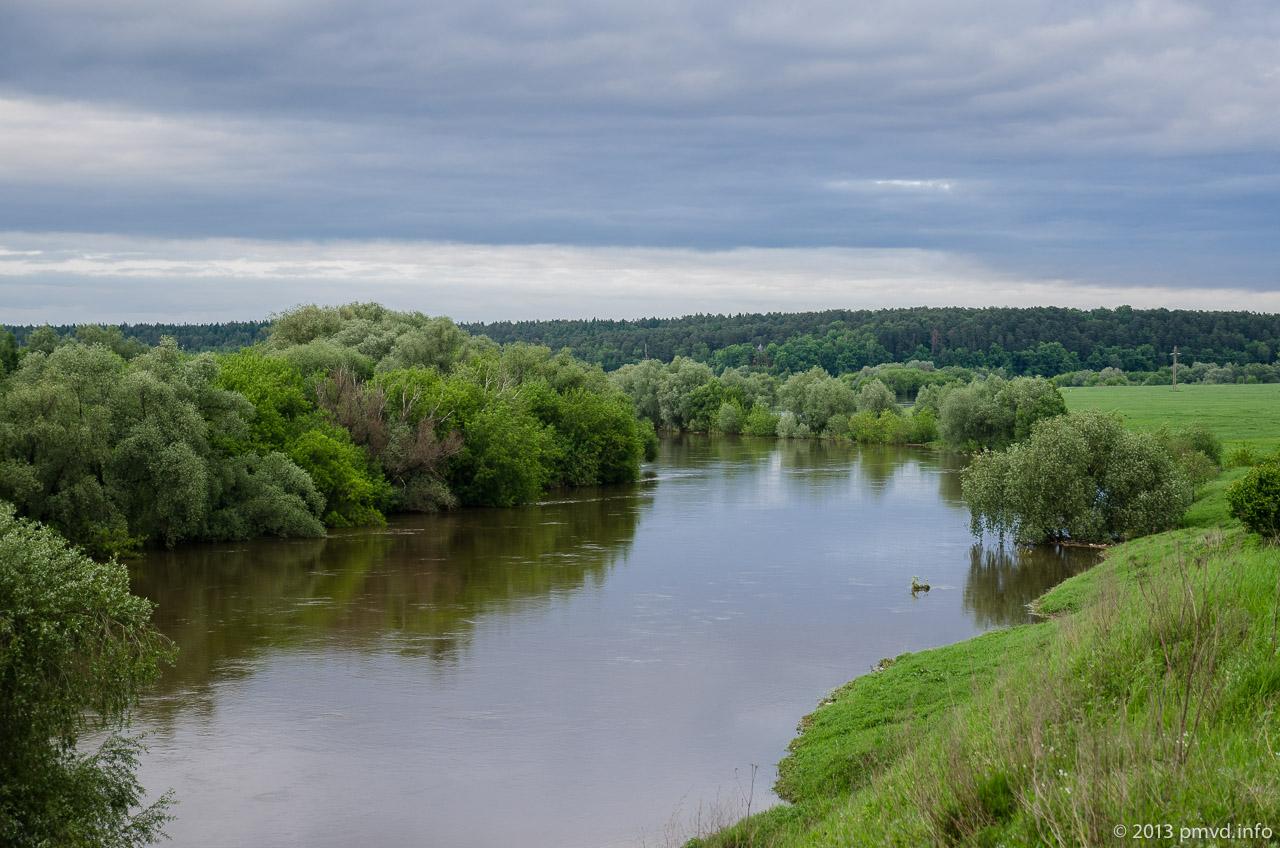 Река Москва в селе Иславское