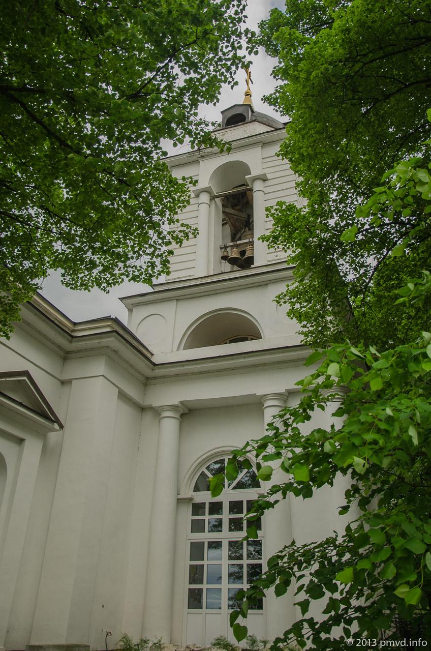 Спасская церковь. Иславское.