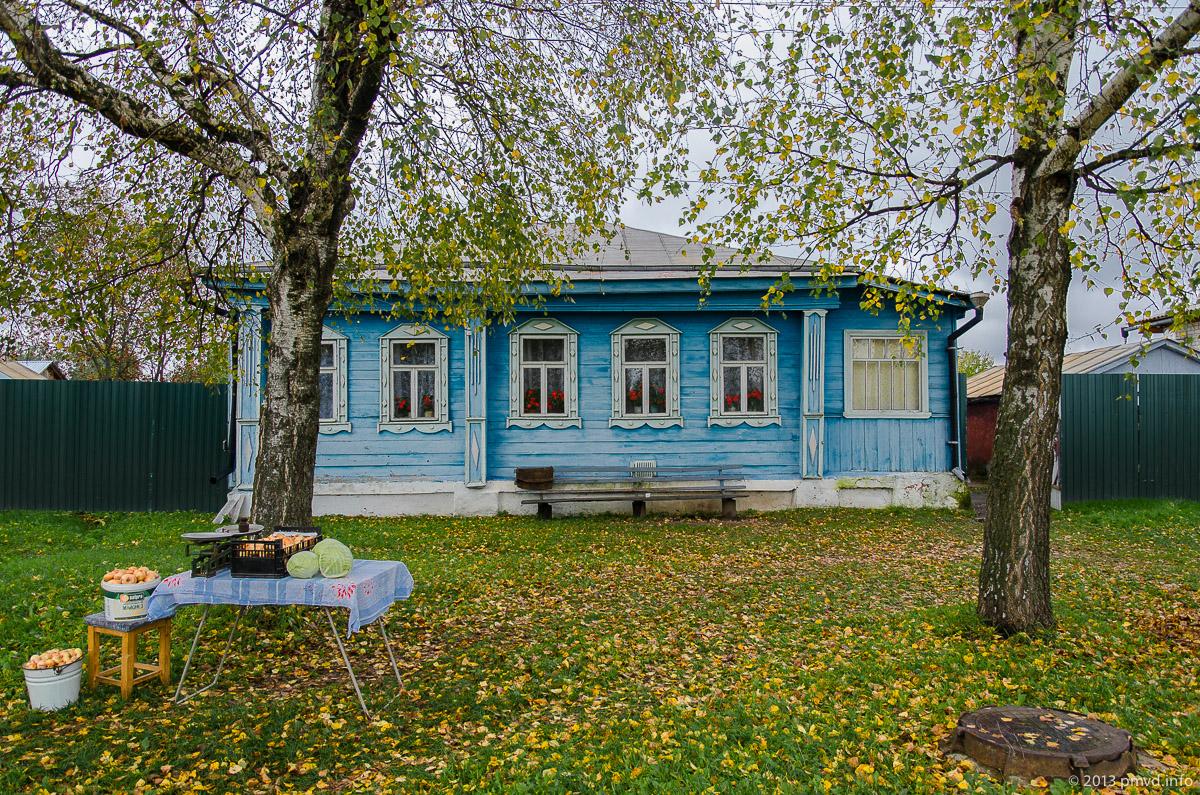 Дома на Старой улице в Кидекше