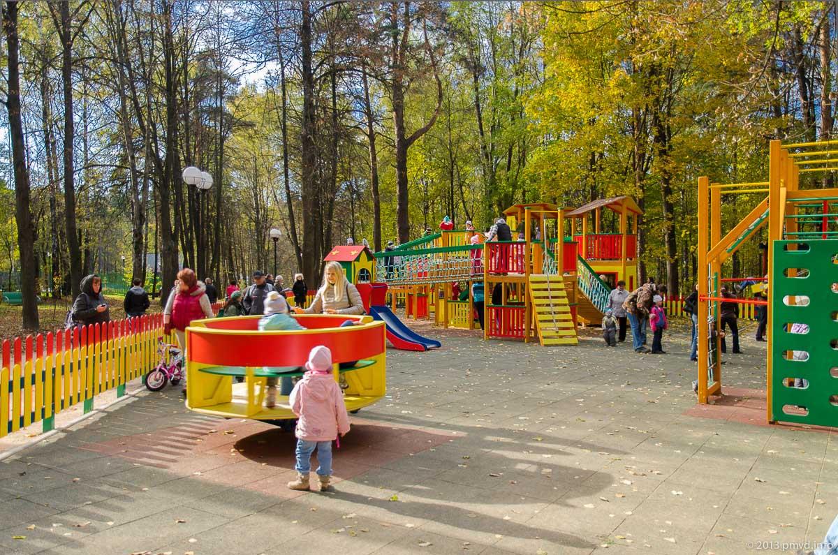 Красногорск. Городской парк. Детская площадка