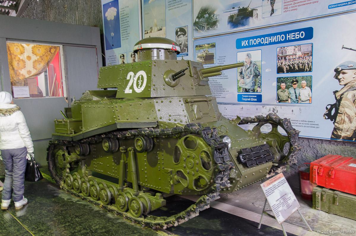 Т-18 в танковом музее в Кубинке