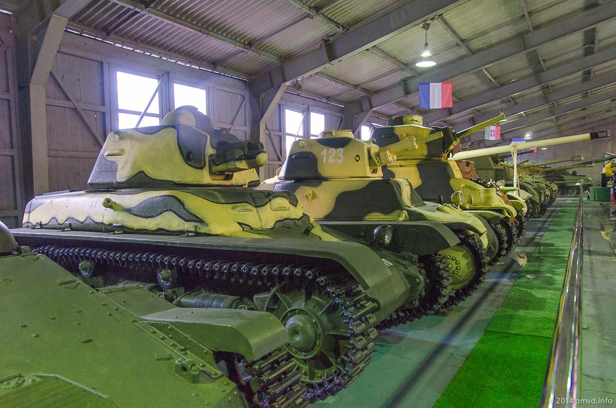 Павильон танков зарубежных стран