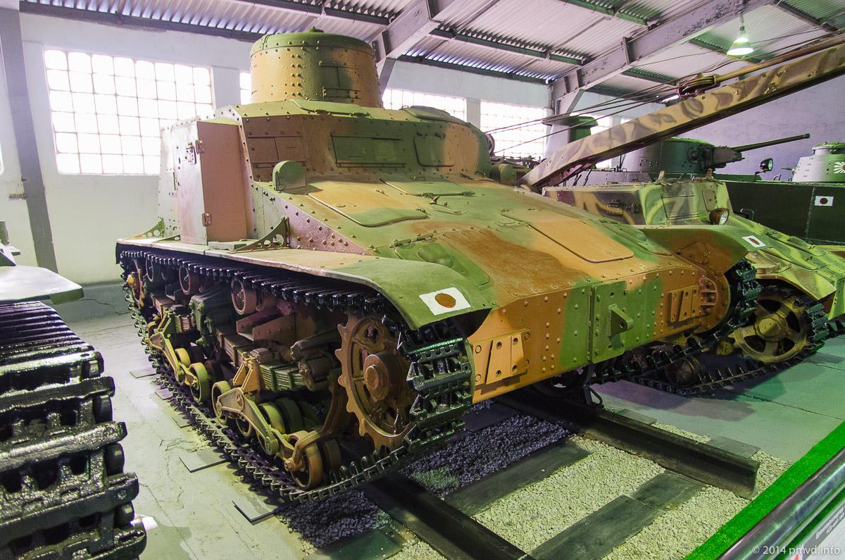 Японский БТР Со-ки в танковом музее Кубинки