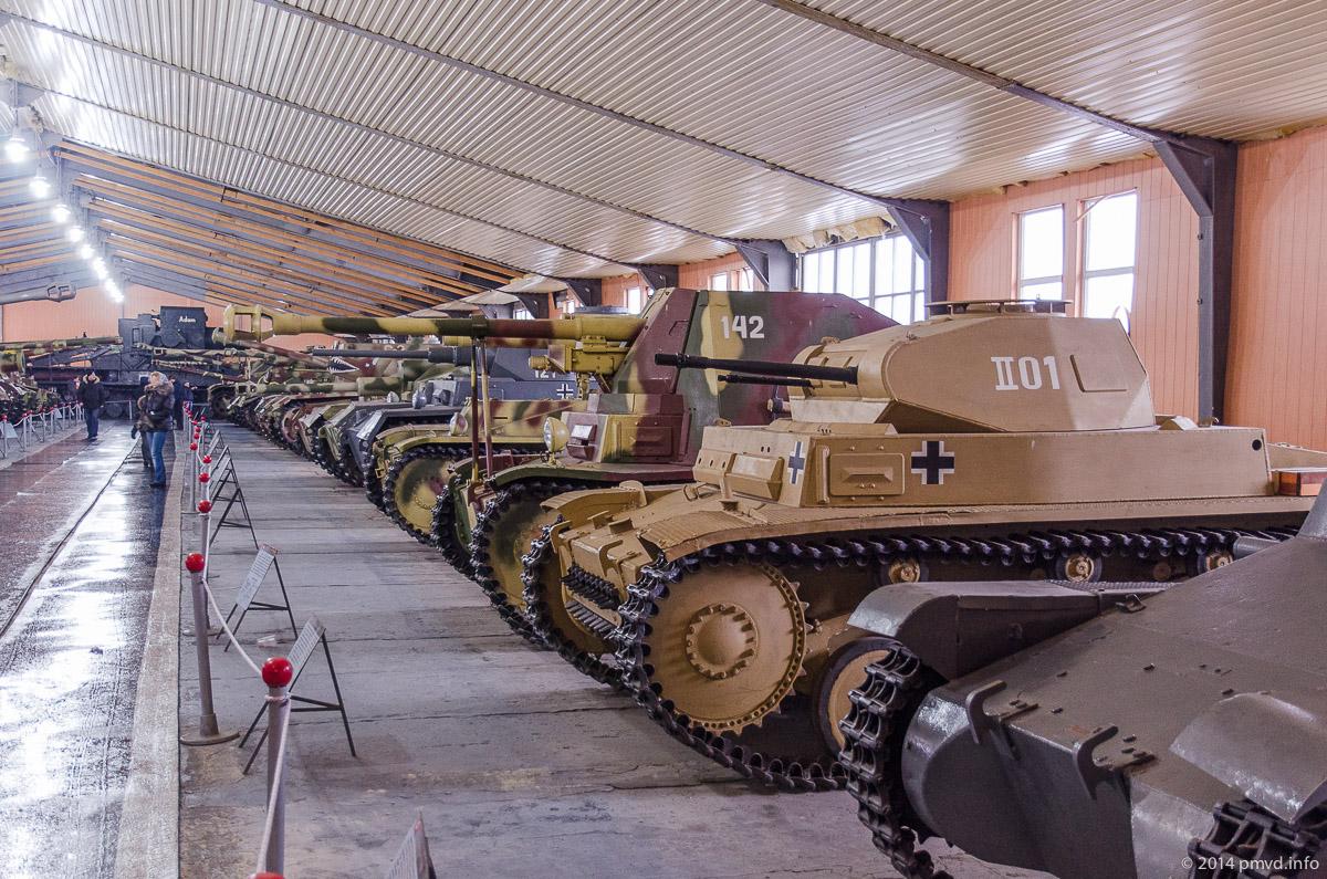 Немецкие танки в танковом музее Кубинки