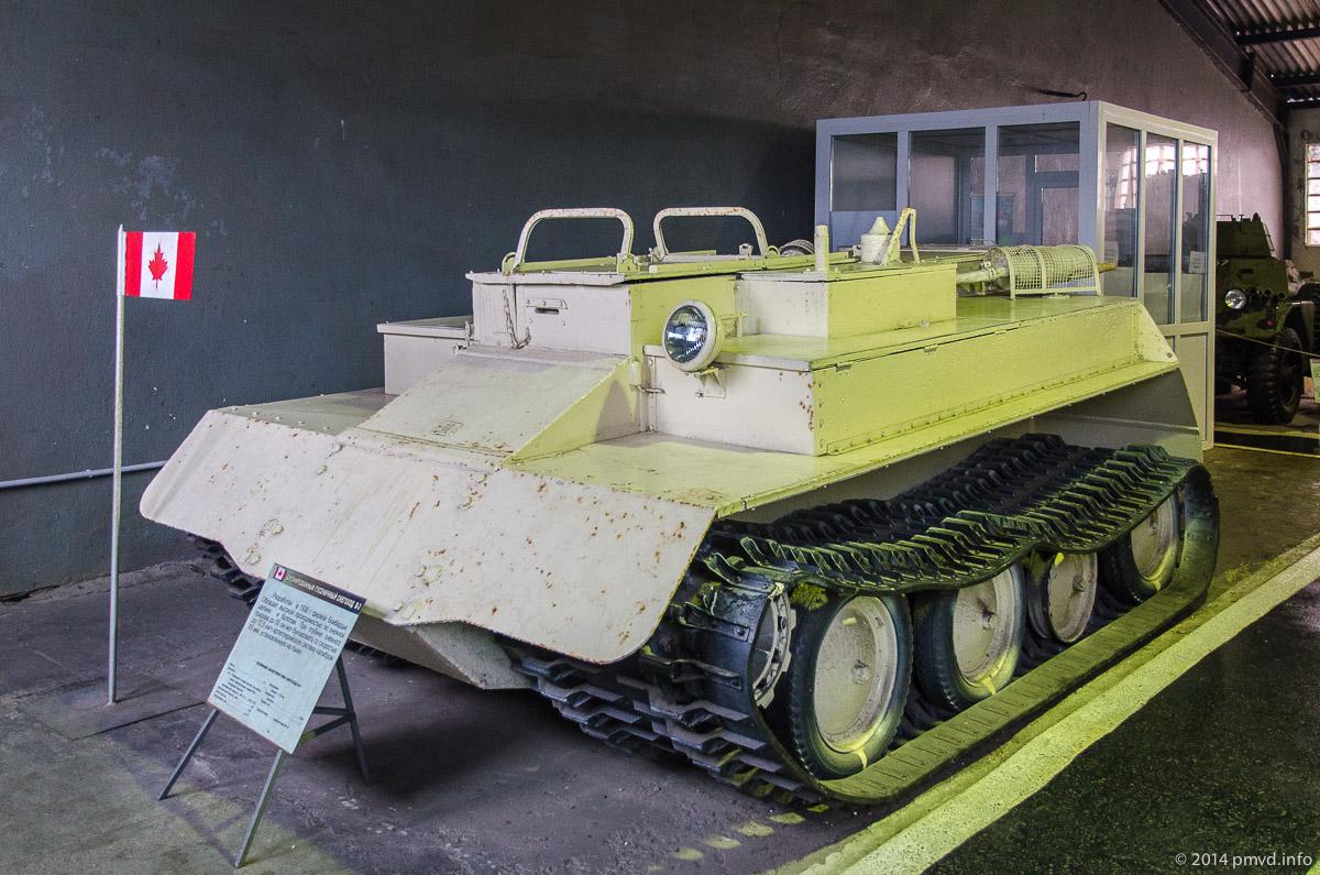 B-3 в танковом музее в Кубинке