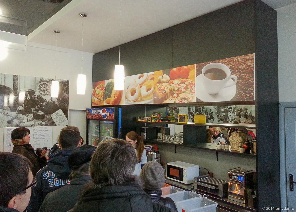 Кафе Самоволка в танковом музее Кубинки