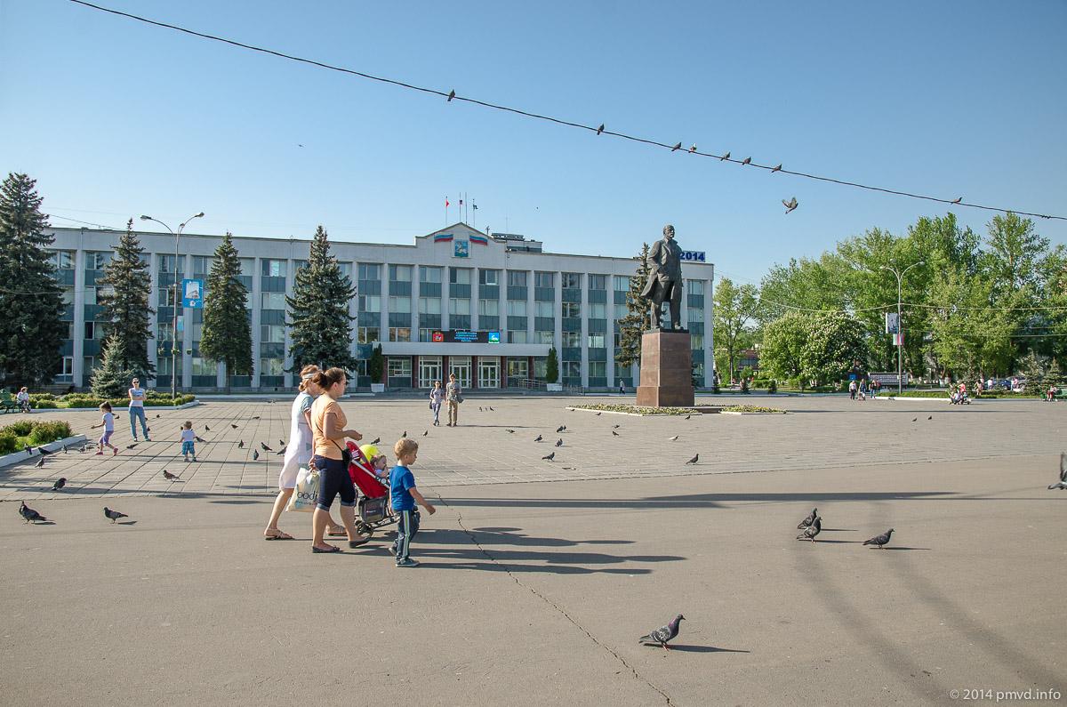 Одинцово. Памятник Ленину