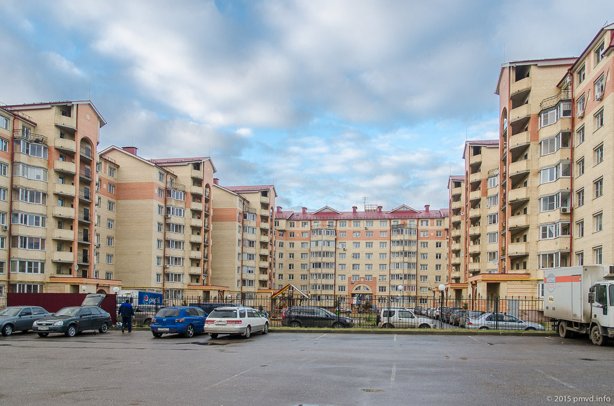 Новостройка в Перхушково